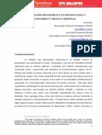 As Ruralidades Brasileiras e Os Desafios Para o Planejamento Urbano e Regional