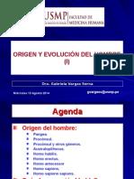 2-SEGUNDA CLASE-ORIGEN Y EVOLUCION DEL HOMBRE (I) -13AGO14 (1).ppt