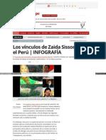 Larepublica Pe Politica 397904 Los Vinculos de Zaida Sisson