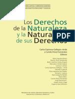 Libro Los Derechos de La Naturaleza y La Naturaleza de Los Derechos