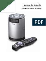 Manual TViX M5000 Spanish