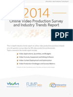 2014 Video Production Survey and Trends Report-NEW