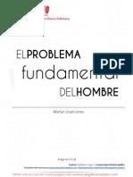 El Problema Fundamental Del Hombre