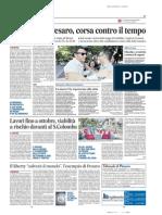 23.8.2015, 'Il Liberty Salverà Il Mondo, l'Esempio Di Pesaro', Il Messaggero