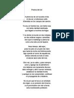 Poema Del Sol