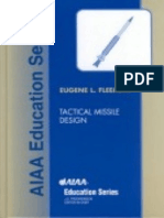 Tactical Missile Design