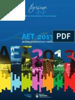 Anuario Estadístico de Turismo 2013