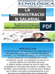 La Administracion Salarial