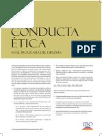 Poster Conducta Ética
