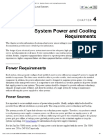 C H A P T E R 4 - System Power and Cooling Requirements - Sun Oracle.pdf