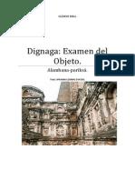 Dignaga Examen Del Objeto.