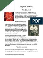 yayoi kusama article pdf