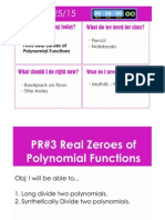 pr 3 real zeroes notes
