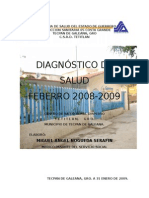 Diagnostico de Salud Tetitlan 2008