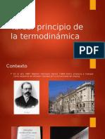 Expo Tercer Principio de La Termodinámica