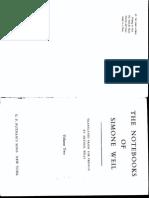 [Simone Weil] the Notebooks of Simone Weil Vol II(BookFi.org)