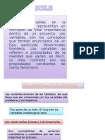 VARIABLES EN LA INVESTIGACIÓN.ppt