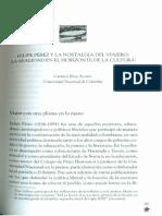 Carmen Elisa Acosta_Felipe Pérez y la Nostalgia del Viajero