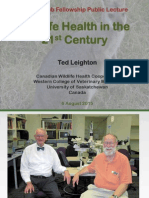 Wildlife Health in the 21st Century, by Ted Leighton