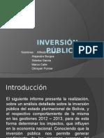 INVERSIÓN PÚBLICA