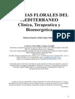 Esencias Florales Del Mediterraneo Clinica, Terapeutica y Bioenergetica
