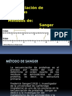9. Secuenciación de Proteínas