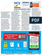 Pharmacy Daily for Mon 24 Aug 2015 - Pharmacy biosimilar alert, ACCC acts on AMI, Brimica approval, Weekly Comment and much more