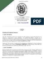 Cuenta de Salas - Sala Constitucional 11712