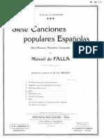 7 Canciones Populares España