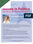 'Money In Politics' with Zephyr Teachout