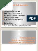 Principios Del Electromagnetismo y Ecuaciones de Maxwell