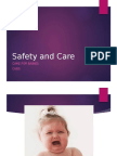 Safety and Care-babies Cues