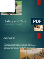 Safety and Care- Environments for Babies