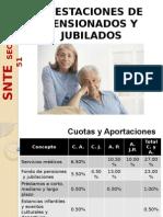 Pensiones y Jubilaciones SNTE 51
