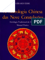 A astrologia chinesa das nove constelações - Gerard Edde