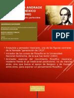 Alberto Carrizalez ANTONIO CASO Andrade