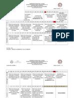 Cronograma Anual de 1º Español 14-15