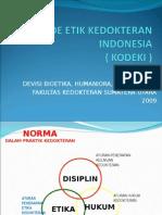 K - 3 Kode Etik Kedokteran Indonesia.ppt