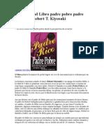 Resumen de Padre Rico Padre Pobre 10 Hojas