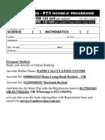 Pt3 Score a Programme - Reg Form