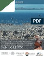Programa de Manejo Archipiélago de San Lorenzo