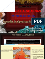 CAPITULO III. Formación de Minerales en La Naturaleza