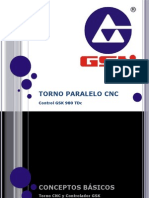 Curso - Torno GSK 980 TDc