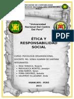 Monografia de Etica y Responsabilidad Social