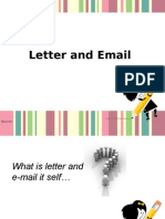E-mails and Letters