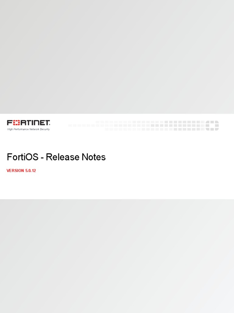 Fortios 5 0 12 Release Notes   Antivirus Software   Web Browser