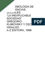 Libro de Epistemologia