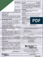 Guaphan Syrup Patient Information Leaflet