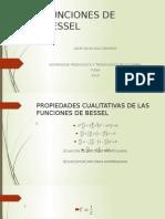 Funciones de FUNCIONES-DE-BESSELBessel