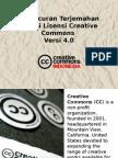 Peluncuran Terjemahan Lisensi CC 4.0